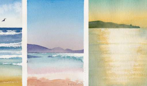 Wasser, Wellen & Meer malen - Aquarell Basics