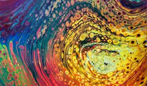 Pouring & Fluid Painting  - überraschende Effekte auf Leinwand