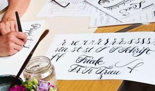 Kalligraphie heute