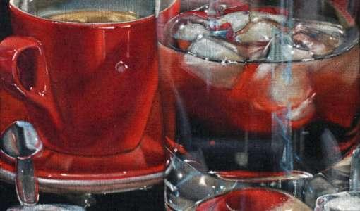 Ist das Glas oder doch nur gemalt?