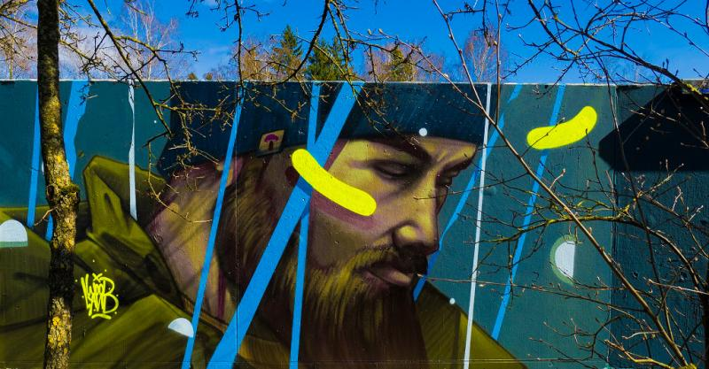 Figürliches Graffiti