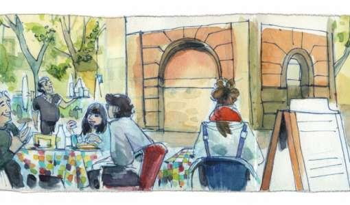 Urban Sketching - das große Ganze in lebendigen Skizzen